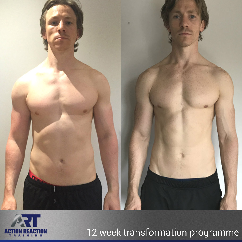 Olly Foster, personal training results