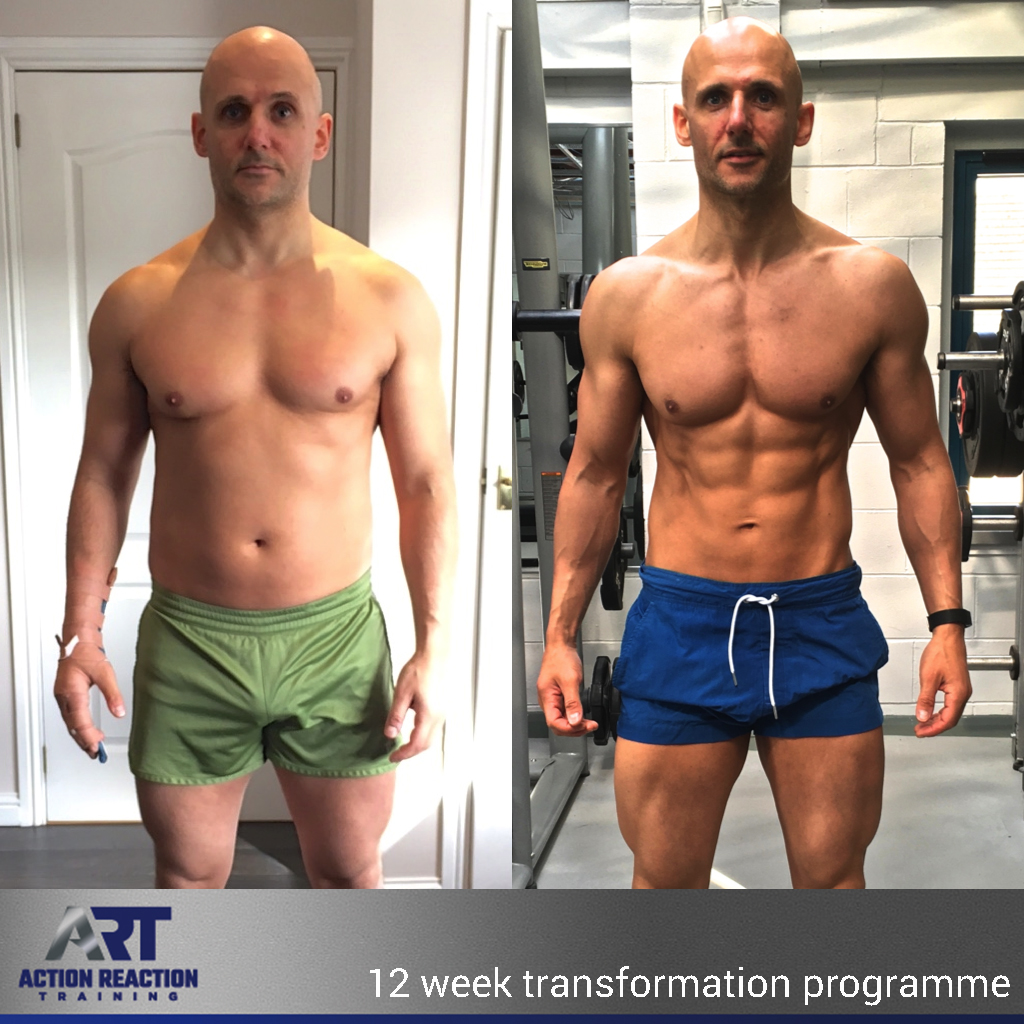 bda74c5c1a6 Learn how to build muscle - Action Reaction Training - Transformations