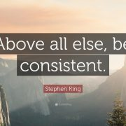 Consistency | Olly Foster