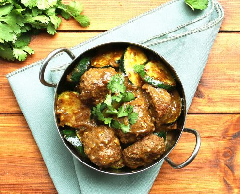 Creamy Meatball Curry