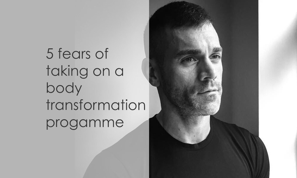 fears and concerns of Olly Fosters body transformation programme