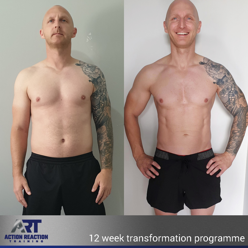 12 week muscle building fat burning program